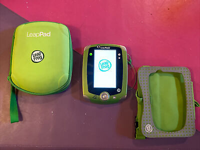 £14.54 • Buy LeapFrog Green LeapPad 2 System Tablet Tested/Reset With Stylus, Case, Car Case