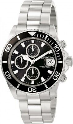 $ CDN101.73 • Buy Invicta Men's 1003 Pro-Diver Scuba Stainless Steel Black Dial Chronograph Watch