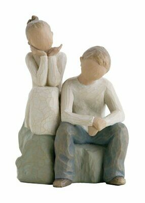 £33.99 • Buy Willow Tree Brother And Sister Figurine