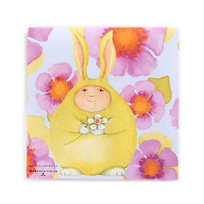$9.95 • Buy Mackenzie Childs Patience Brewster Easter Bunny Cocktail Napkins NIP