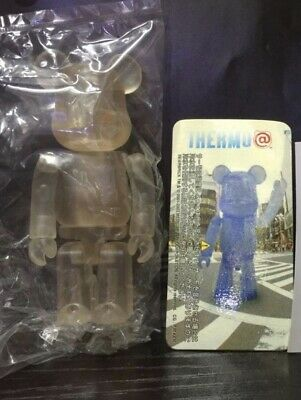 $19.99 • Buy New Thermo Clear To Blue 100% Bearbrick Jellybean Series 6 US Seller Medicom