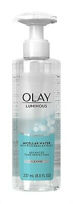 AU21.99 • Buy Olay Luminous Micellar Water With Rice Bran Extract CLEANSE 237ml X 2 Bottles