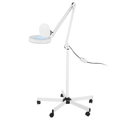 £46.17 • Buy 8X Magnifier Light Lamp Floor Stand Glass Lens Magnifying Salon SPA Beauty Tool