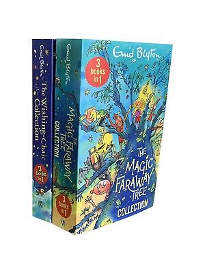 £8.90 • Buy The Magic Faraway & Wishing Chair 2 Book 6 Story Collection By Enid Blyton