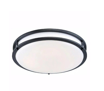 £53.55 • Buy 12 In. Oil-Rubbed Bronze Low-Profile LED Ceiling Light By EnviroLite