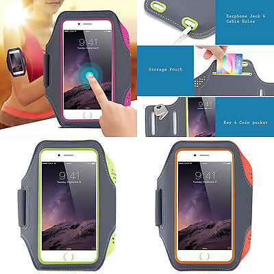 AU15.99 • Buy Sports NEOPRENE Armband Apple IPhone 5 6 6S 7 8 & PLUS SE X XS XR Strap Arm Band