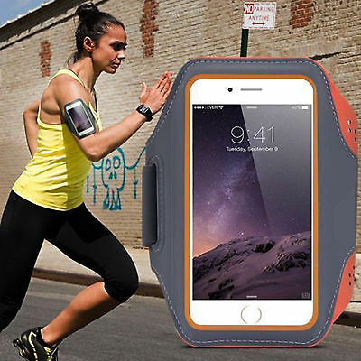 AU15.99 • Buy Sports Jogging Running Gym Armband For Apple IPhone 5/6/7/8Plus X XS XR Arm Band