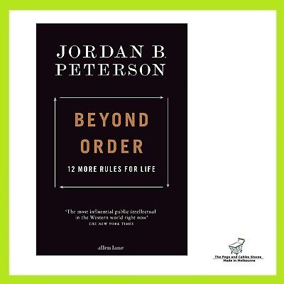 AU27 • Buy Beyond Order: 12 More Rules For Life By Jordan B. Peterson | Paperback Book NEW
