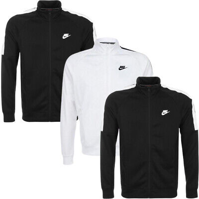 £25.99 • Buy Nike Mens Track Jackets Air Tribute Tracksuit Running Football Sports Tops