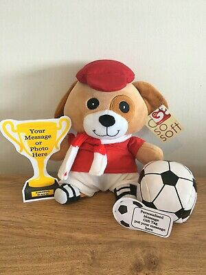 £14.99 • Buy Personalised Manchester United Football Footballer  Dog, Kit, Trophy, Unique