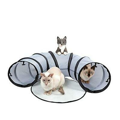 Cat Tunnel & Bed - Foldable, Portable For Indoor & Outdoor Activities -  • 19.15£