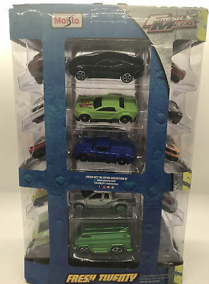 $ CDN24.14 • Buy Maisto Fresh Metal Fresh Twenty 20 Gift Pack Set Diecast Classics NEW!