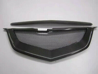 $249 • Buy For Acura TL 04 05 06 07 08 Front Mesh Grille Carbon Fiber Shark Mouth Grill