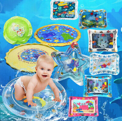 AU15.16 • Buy Inflatable Baby Water Mat Fun Activity Play Cushion Pad For Children Infant WD
