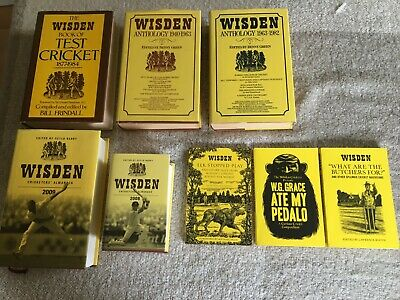 £19.95 • Buy Wisden Cricketers Anthology/Almanack Collection.