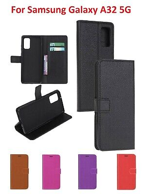 $ CDN7.37 • Buy For Samsung Galaxy A32 5G Leather Wallet Flip Book Case Cover Pouch W/ Pocket