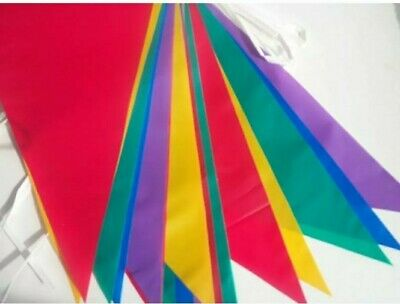 £1.84 • Buy 33 Feet 20 Flags Multi Colour Banner Bunting Party Home Garden Decoration UK