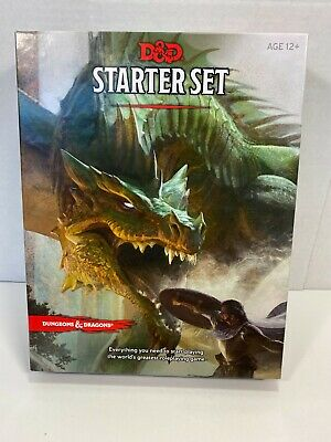 AU12.87 • Buy Dungeons & Dragons D&D Starter Set Wizards Of The Coast 2014 Complete