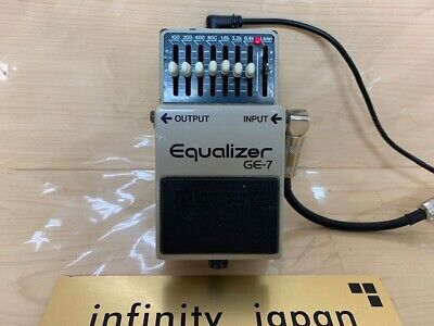 $ CDN86.52 • Buy Boss GE-7 Equalizer Guitar Effect Pedal Free  Shipping Fast Shipping From Japan