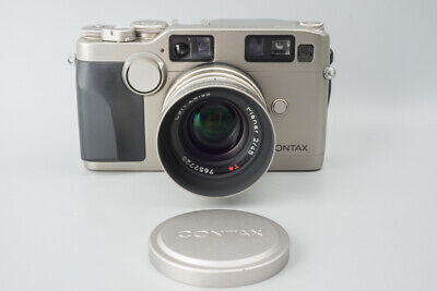 $ CDN1814.89 • Buy Contax G2 Rangefinder 35mm Film Camera + Carl Zeiss Planar 45mm F/2 T* Lens, G