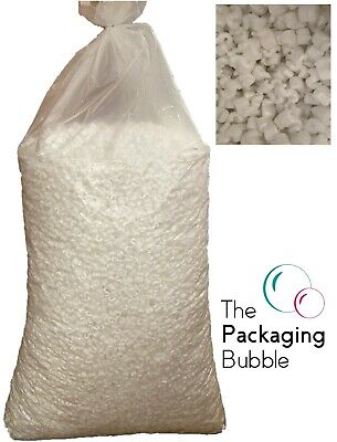 £14.99 • Buy Recycled Loose Void Fill Packing Peanuts Polystyrene Filling All Quantities