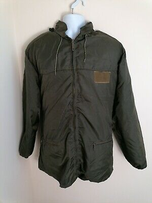 £39.80 • Buy Italian Army Mens Waterproof Jacket Large With Quilted Liner Military
