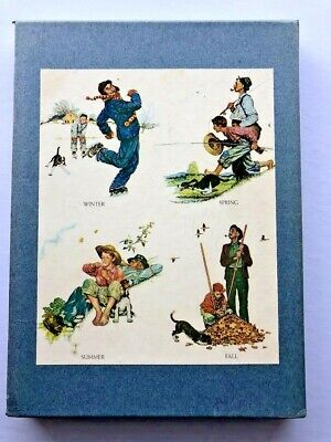 $ CDN35.03 • Buy Vintage 1972 Norman Rockwell Illustrator Book With Slip Case Cover Free Shipping