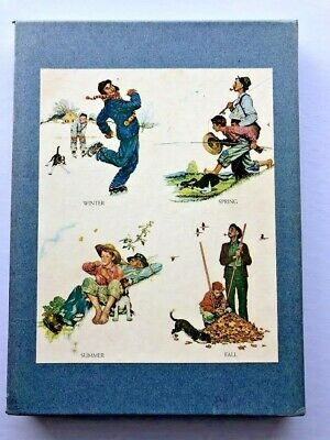 $ CDN31.15 • Buy Vintage 1972 Norman Rockwell Illustrator Book With Slip Case Cover