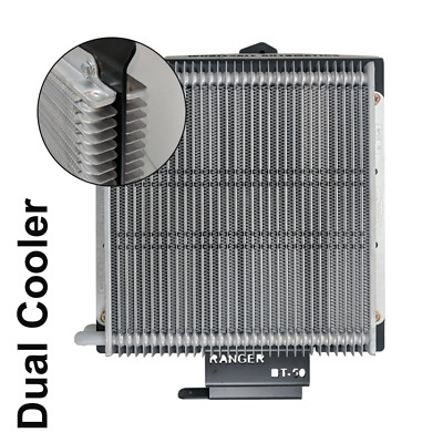 AU716.61 • Buy Dual Heavy Duty Transmission Oil Cooler Kit - Ford Ranger PX 6R80 6 Speed Auto