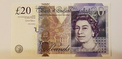 £26.99 • Buy Great Britain-Bank Of England £20 2011 (Paper Banknote) Signed C. Salmon UNc