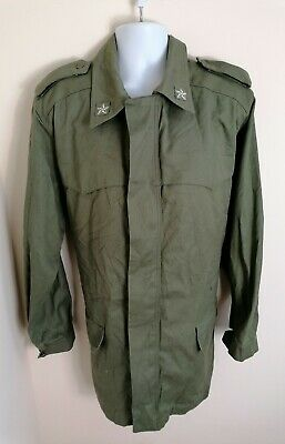 £29.80 • Buy Mens Italian Military Vintage Trench Coat Large Olive Green Army