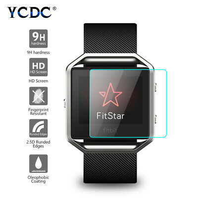 AU4.01 • Buy Anti-fingerprint 0.26mm Hd Tempered Glass Screen Protector For Fitbit Blaze 66E