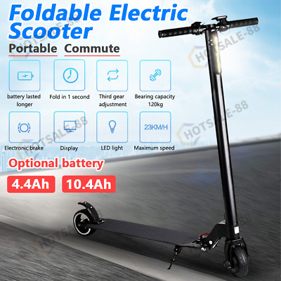 AU318.89 • Buy BULLET Electric Scooter 250W For Adults Kids Motorised Folding Riding Commuter