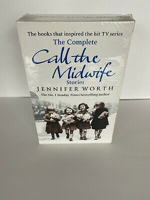 Jennifer Worth The Complete Call The Midwife Stories 3 Books Collection Set Pack • 12£