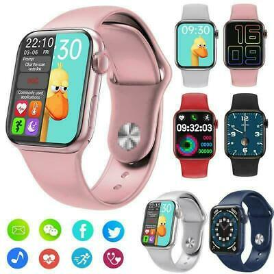 $ CDN48.25 • Buy 2021 SMART WATCH CALL DIAL SPIN-KNOB WEATHER CAMERA Heart Tracker ANDROID IOS UK