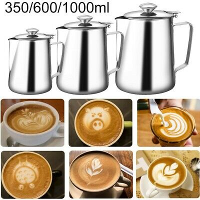£14.80 • Buy Stainless Steel Teapot Tea Pots Coffee Cafe Drink Kitchen Lid Pot Catering