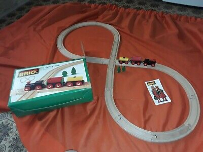 £21.99 • Buy Brio Train Set 33158 Complete In Box With Booklet