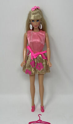 $ CDN62.65 • Buy Vintage Barbie Mod Era Clothes Doll Outfit #3404 GLOWIN OUT Complete!