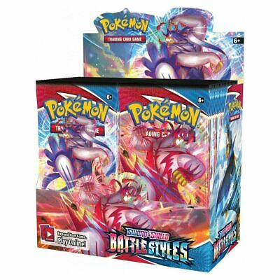 AU219.99 • Buy *IN STOCK* POKEMON TCG Sword And Shield Battle Styles Booster Box | 36 Boosters