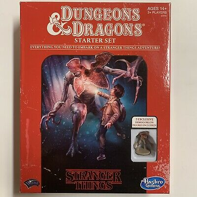 AU36.95 • Buy D&D Stranger Things Dungeons And Dragons Starter Set Roleplaying Game 2018