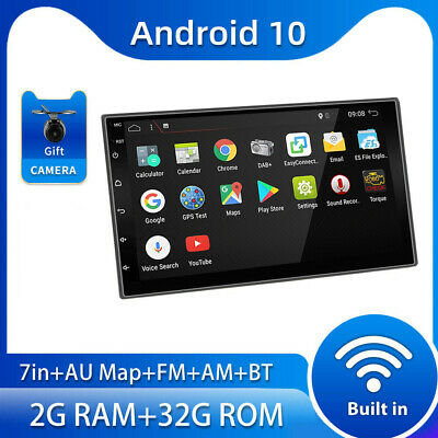 AU165 • Buy Android 10 7  Car Radio Stereo GPS For Universal Double 2 Din Head Unit BT FM AM