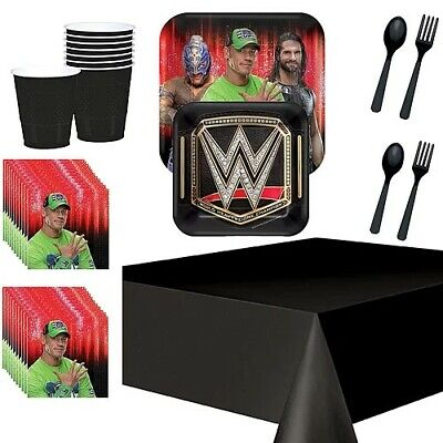 £27.99 • Buy WWE Deluxe Party Kit For 8