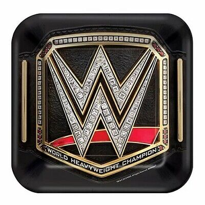 £6.99 • Buy WWE 8-Pack Dessert Party Plates