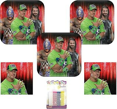 £22.99 • Buy WWE Smash Wrestling Party Supplies Pack Serves 16