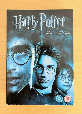 $ CDN29.15 • Buy Harry Potter DVD Complete Collection - Years 1-7B - English 8-Disc Box Set