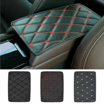 $4.83 • Buy Auto Armrest Pad Cover Center Console Box PU Leather Cushion Mat Car Accessories