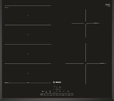 £679.99 • Buy Bosch Serie 6 PXE651FC1E Induction Hob 4 Zone Touch Control 59cm - Black