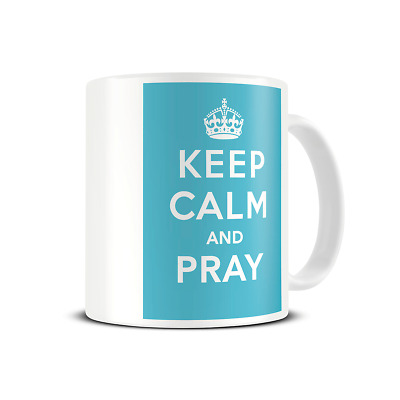 £7.65 • Buy Keep Calm And ANY TEXT - Personalised Mug - Custom Printed With Your Own Text