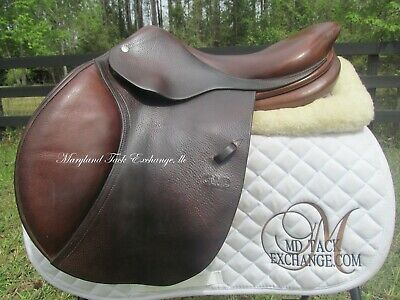$ CDN2527.23 • Buy 17  CWD SE01 Close Contact Jumping Saddle 3L Long Flaps-2011 Model- * ON TRIAL*