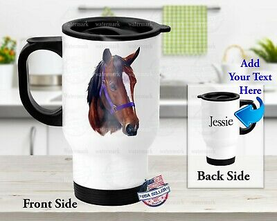 $23.99 • Buy Ranch Majestic Horse  - Stainless Steel Thermal 14oz Insulated Travel Mug
